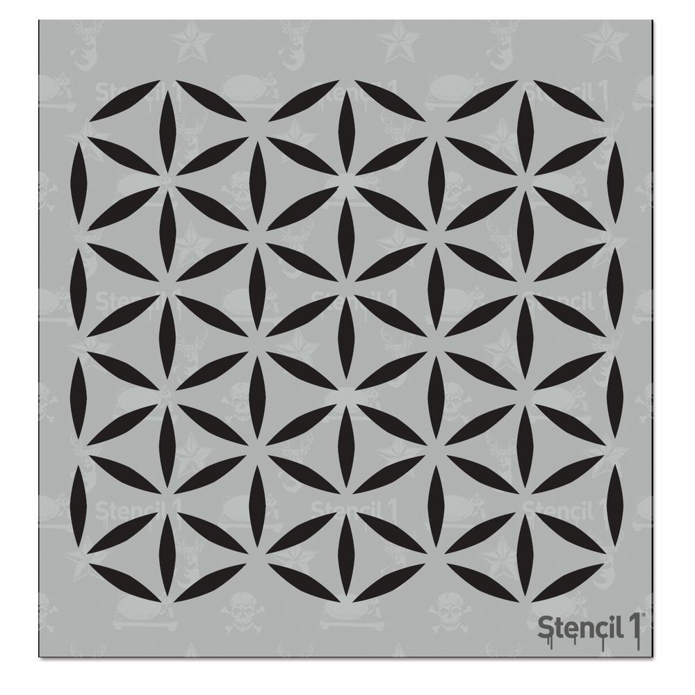 Moroccan Small Repeat Pattern Stencil