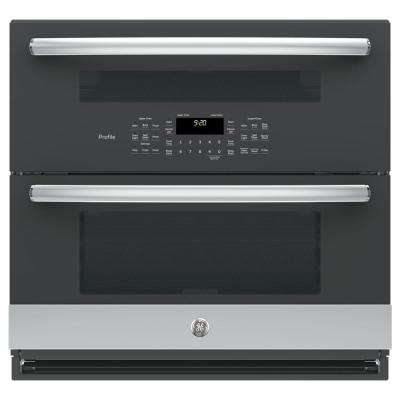 30 in. Single Electric Self-Cleaning Built-In Wall Oven in Stainless Steel with Twin Flex