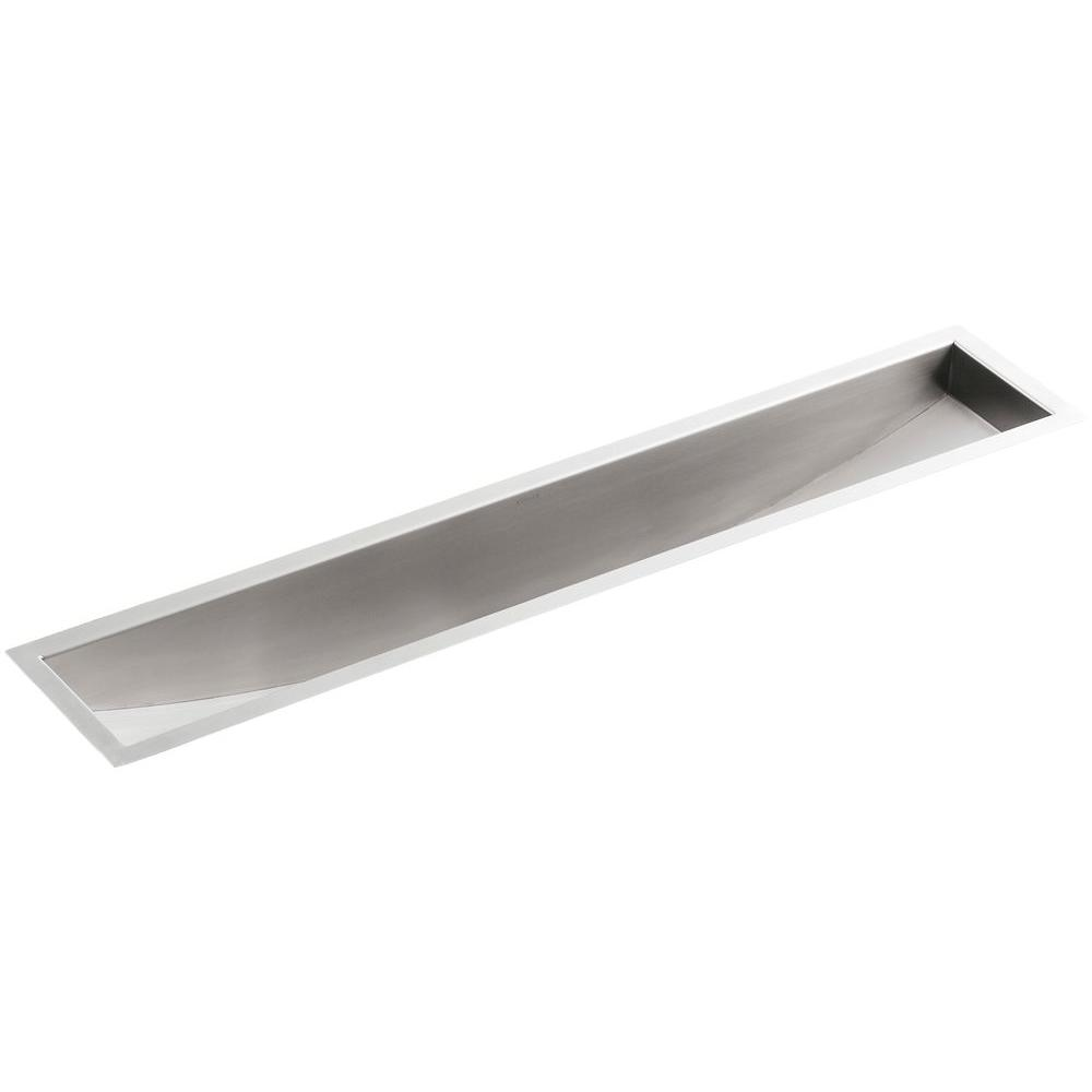 Kohler Undertone Undermount Stainless Steel 43 In Single