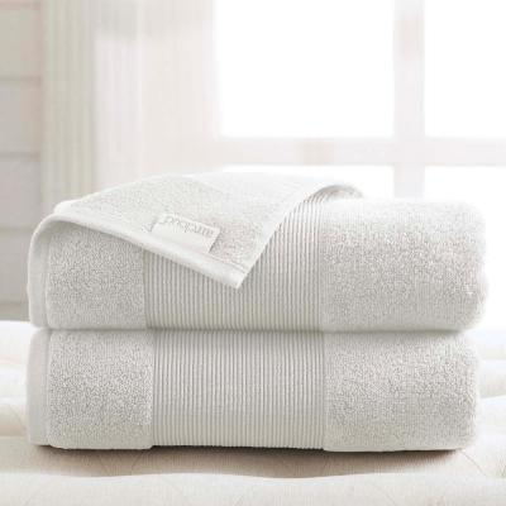 Air Cloud 2-Piece White Oversized Bath Sheet