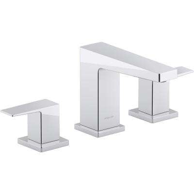 Honesty 8 in. Widespread 2-Handle Bathroom Faucet in Polished Chrome