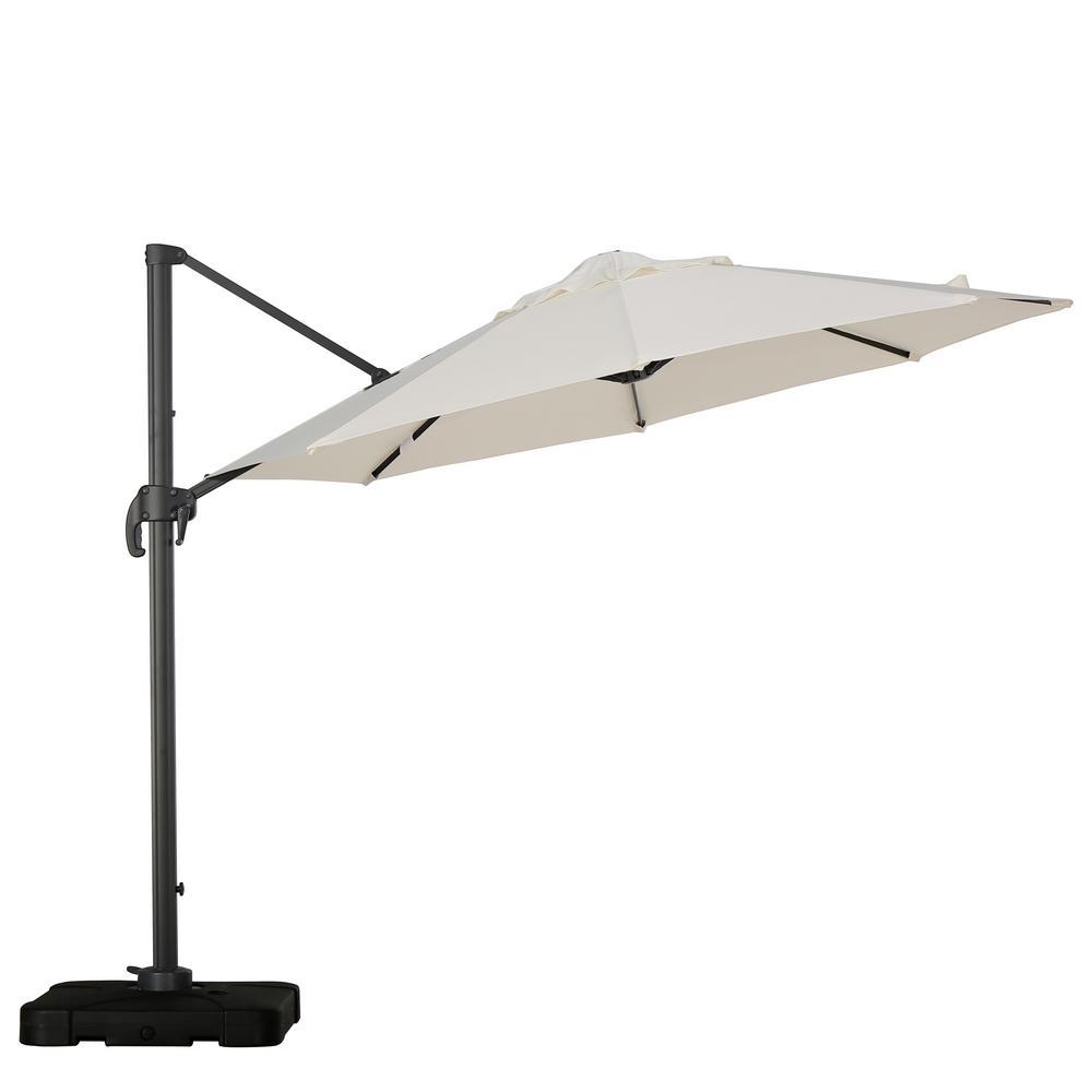 Durango 10 ft. Cantilever Patio Umbrella in Beige
