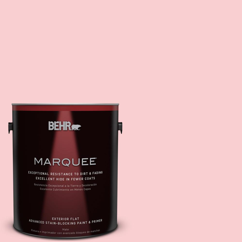 BEHR MARQUEE 1-gal. #130A-2 Fading Rose Flat Exterior Paint