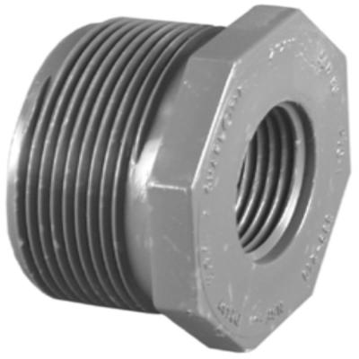 1 1/2 in. x 3/4 in. PVC Sch. 80 Reducer Bushing