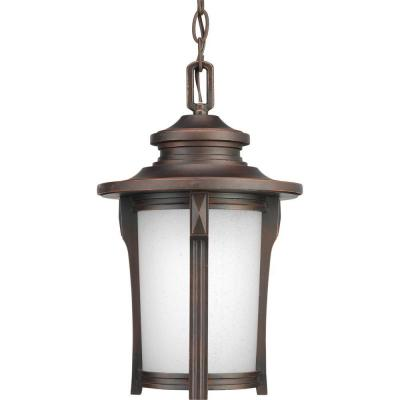 Pedigree Collection 1-Light Outdoor Autumn Haze Hanging Lantern