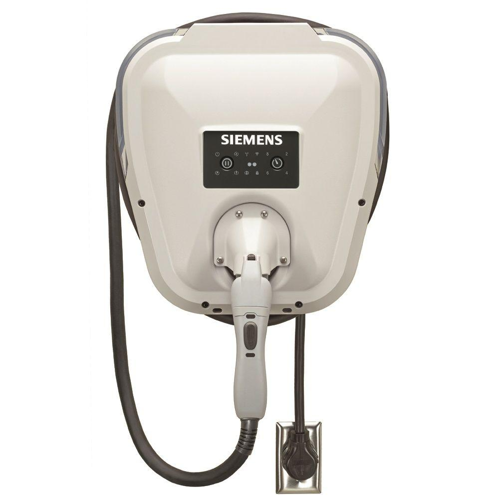 Siemens Versicharge Gen 2 30 Amp Indoor Outdoor Electric Vehicle Charger Plug In Bottom