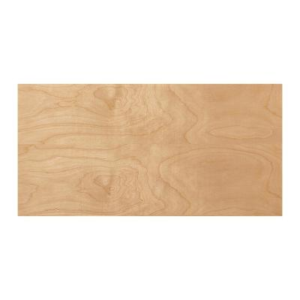 1/4 in. x 2 ft. x 4 ft. Birch Markerboard