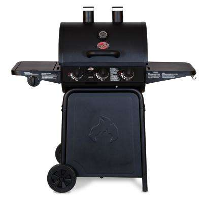 Original Grillin Pro 3-Burner Propane Gas Grill in Black