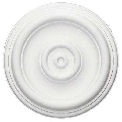 12 in. OD x 1 in. P (Fits Canopies up to 2-3/4 in.) Traditional Ceiling Medallion