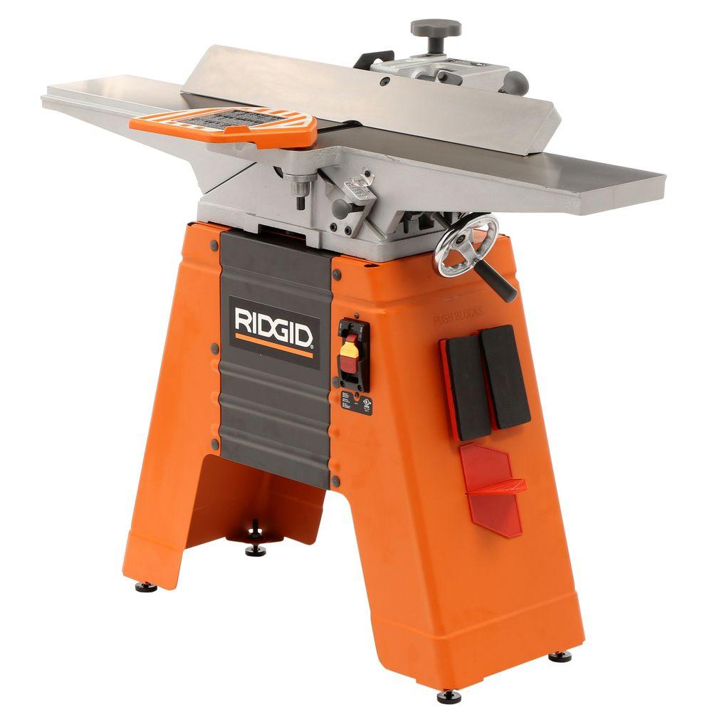 Ridgid 6 Amp 6 1 8 In Corded Jointer Planer Jp0610 The