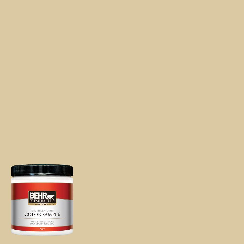 8 oz. #380F-4 Ground Ginger Interior/Exterior Paint Sample