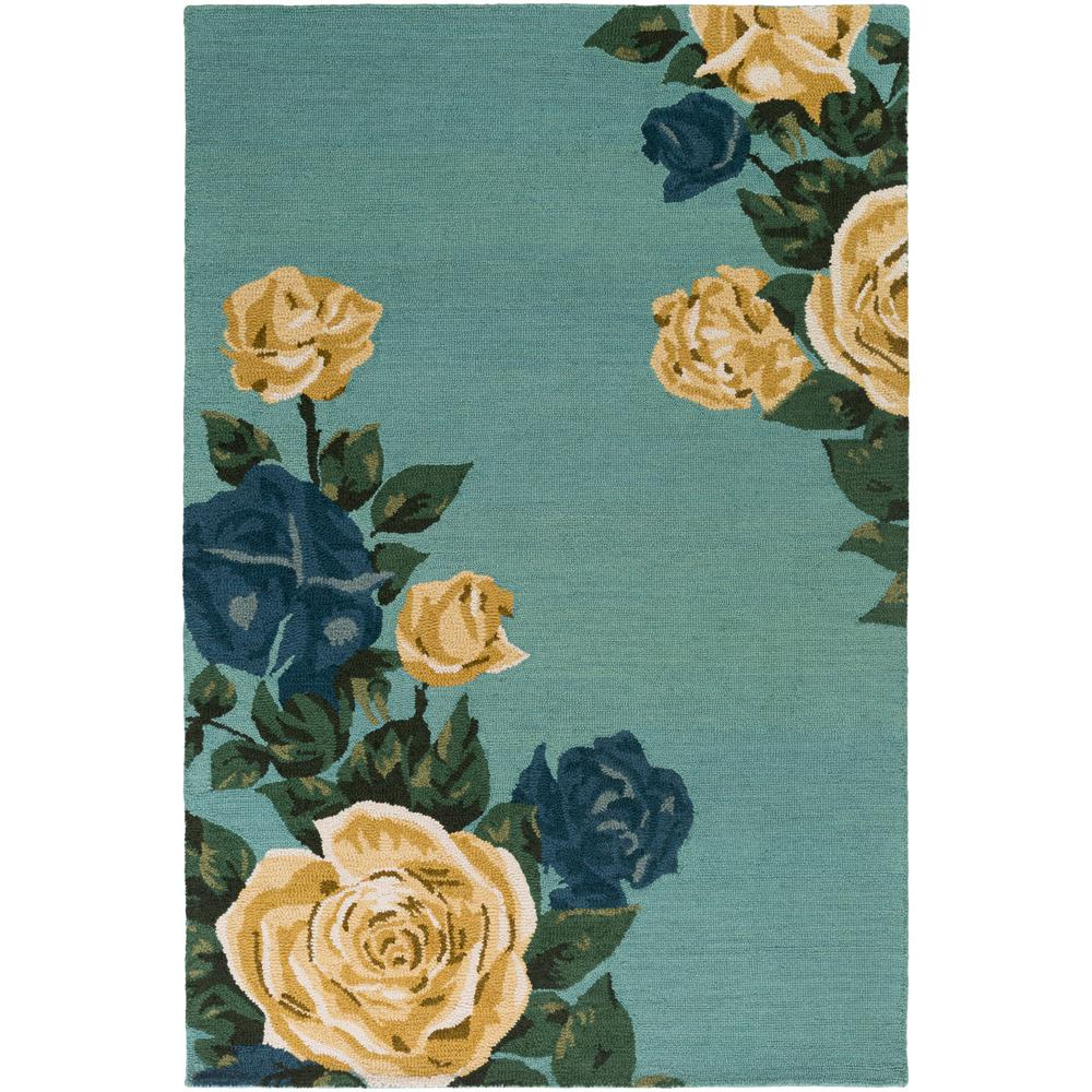 Botany Cora Mint 8 ft. x 10 ft. Indoor Area Rug