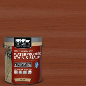 1-gal. #ST-142 Cappuccino Semi-Transparent Waterproofing Stain and Sealer