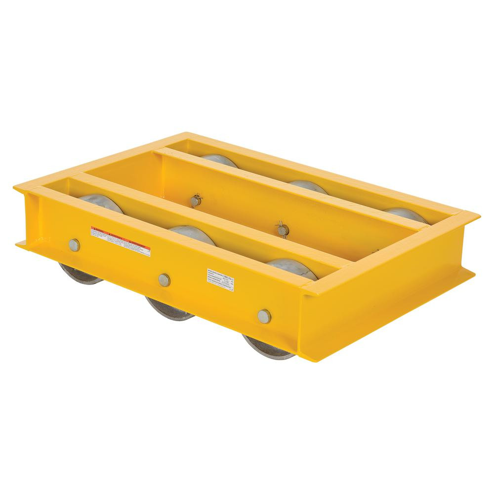 Open Deck Machinery Dolly