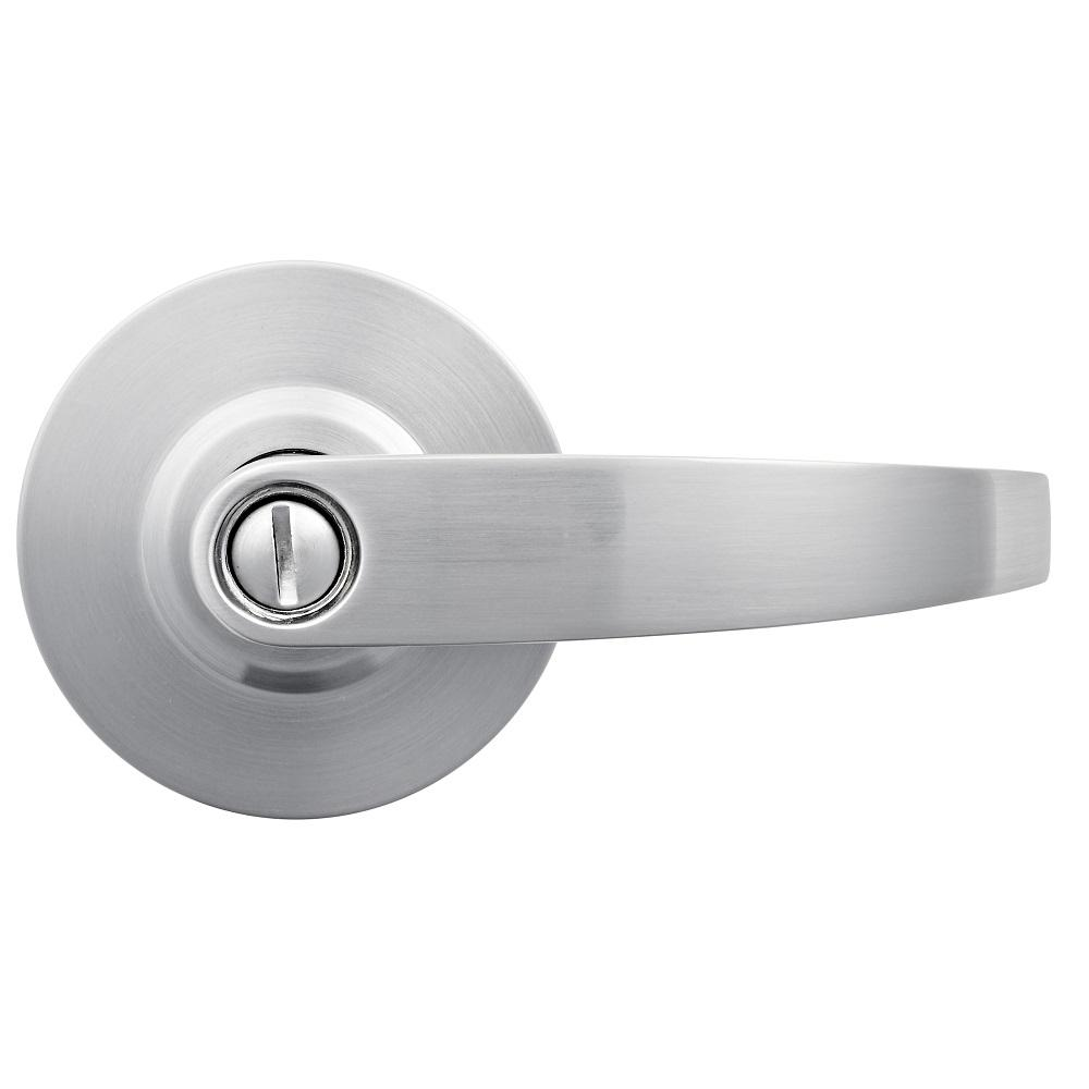 Universal Hardware Commercial 2 3 4 In Satin Chrome Heavy Duty Industrial Vandal Resistant