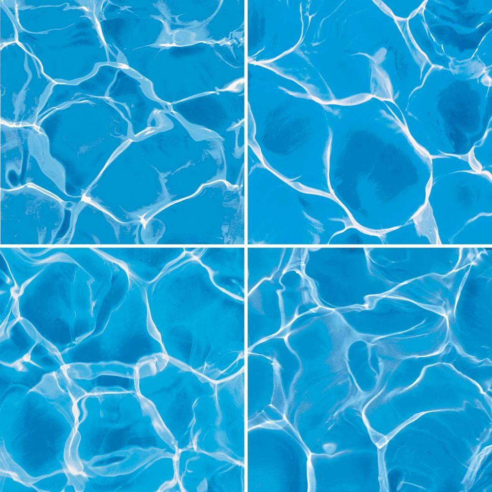 imagine tile Water Series 16 in. x 16 in. Matte Finish Ceramic Floor and Wall Tile (7.1 sq. ft. / case)
