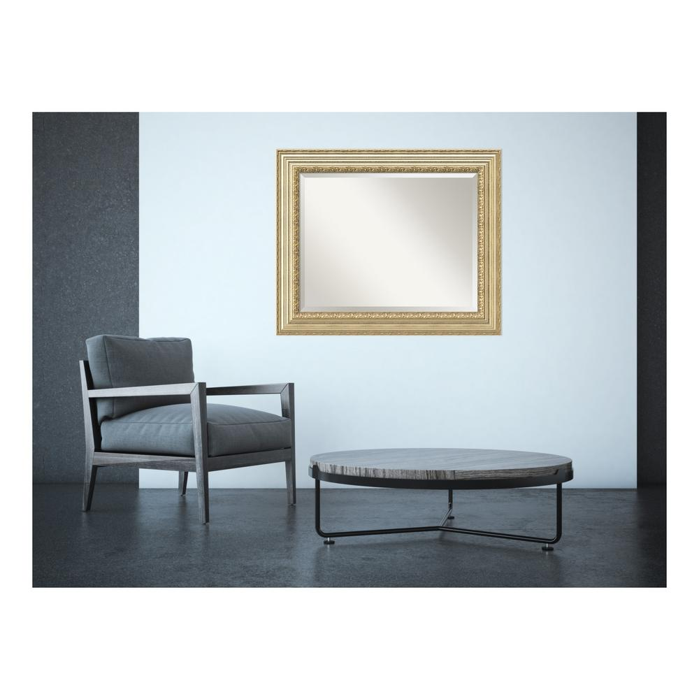 Victorian Champagne Wood 35 in. W x 29 in. H Traditional