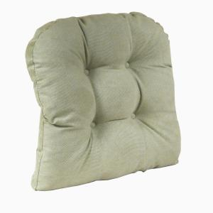 Gripper Non Slip 17 In. X 17 In. Twillo Thyme Tufted Universal Chair