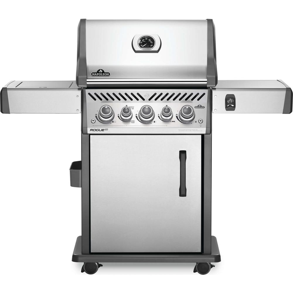 NAPOLEON Rogue® SE 425 Propane Gas Grill with Infrared Rear and Side Burners, Stainless Steel