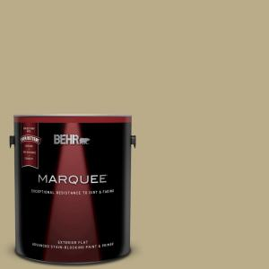 1 gal. #S330-4 Fennel Seed Flat Exterior Paint and Primer in One