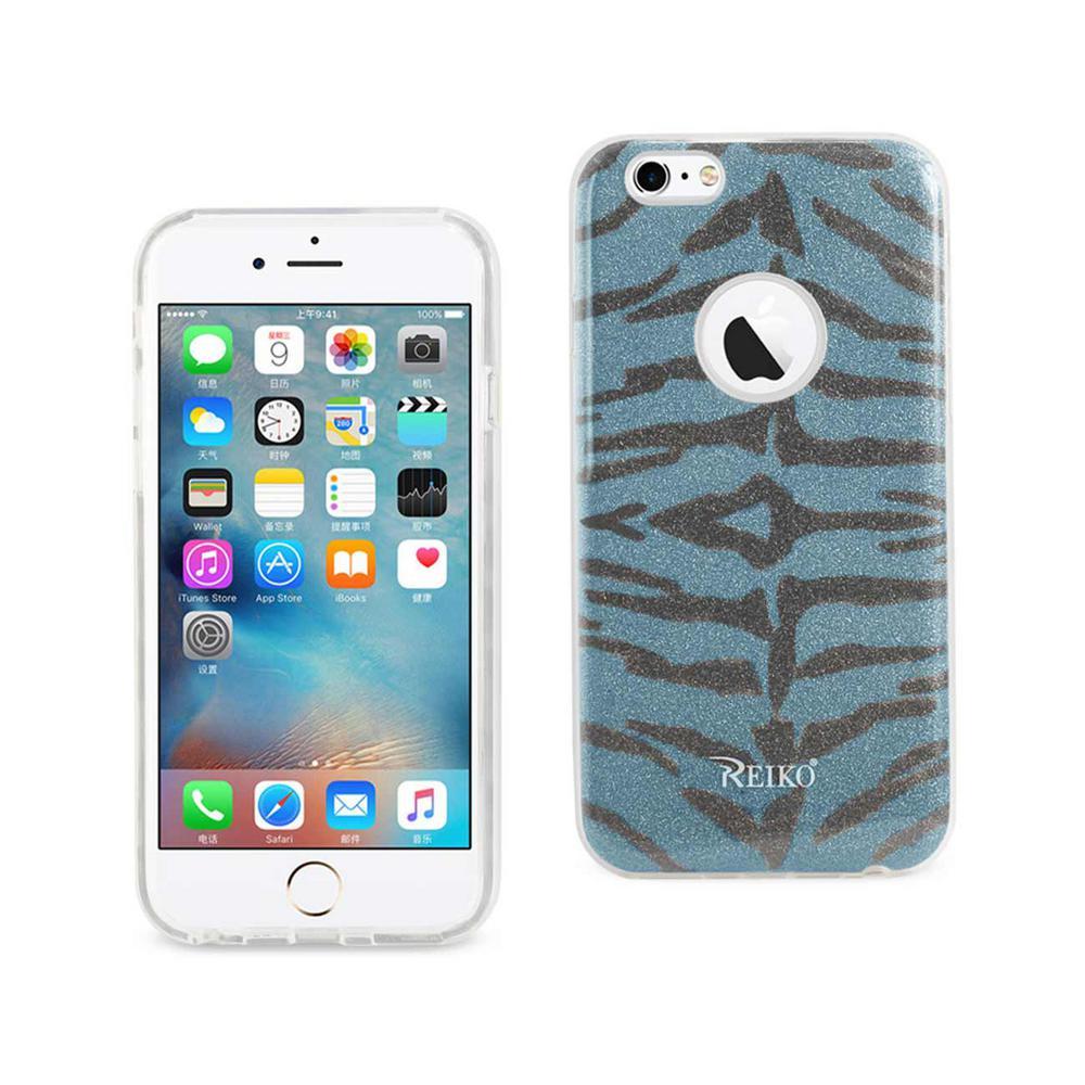 iPhone 6/6S Design Case in Tiger Blue