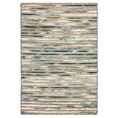 Topanga Dark Grey 5 ft. x 8 ft. Indoor Area Rug