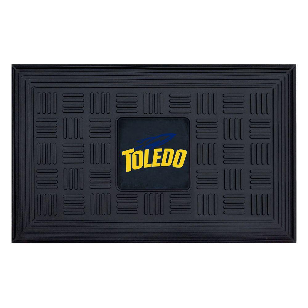 NCAA University of Toledo 18 in. x 30 in. Vinyl Door Mat
