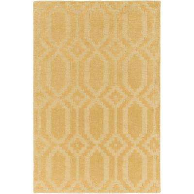 Metro Scout Yellow 8 ft. x 10 ft. Indoor Area Rug