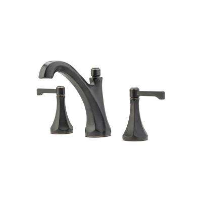Arterra 8 in. Widespread 2-Handle Bathroom Faucet in Tuscan Bronze
