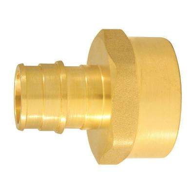3/4 in. Brass PEX-A Expansion Barb x 1 in. FNPT Female Adapter