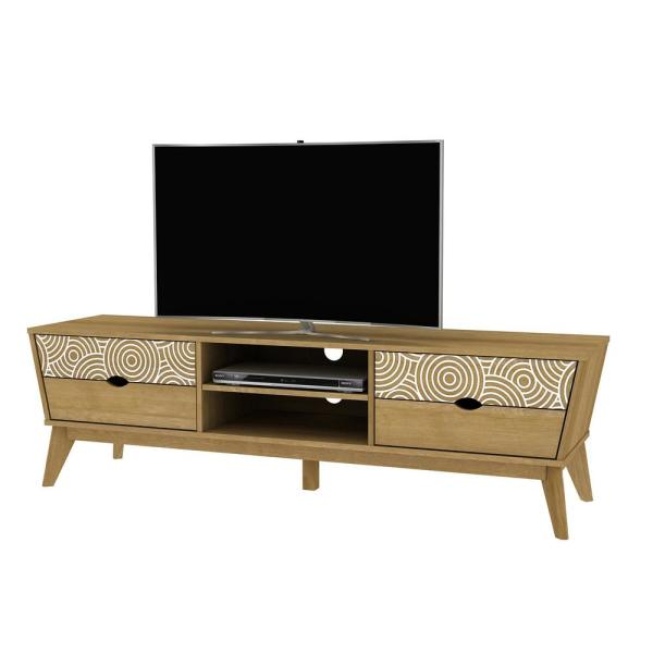4D Concepts Auckland Oak TV Stand 77362
