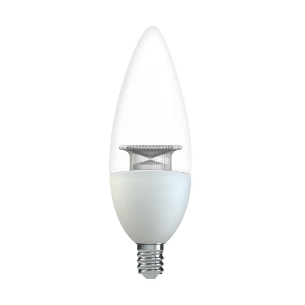 led candelabra bulbs ge 25w equivalent soft white 2700k high definition b11 3702