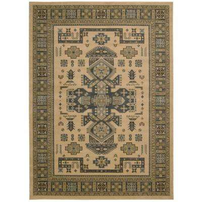 Maymana Camel 9 ft. 3 in. x 12 ft. 9 in. Area Rug