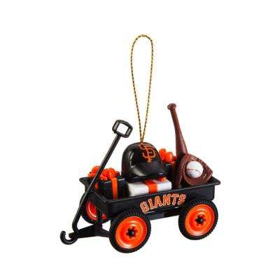 San Francisco Giants 1-3/4 in. MLB Team Wagon Christmas Ornament
