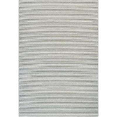 Cape Harwich Light Blue-Silver 7 ft. x 10 ft. Indoor/Outdoor Area Rug
