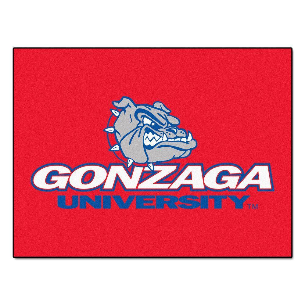Gonzaga University 2 ft. 10 in. x 3 ft. 9 in.