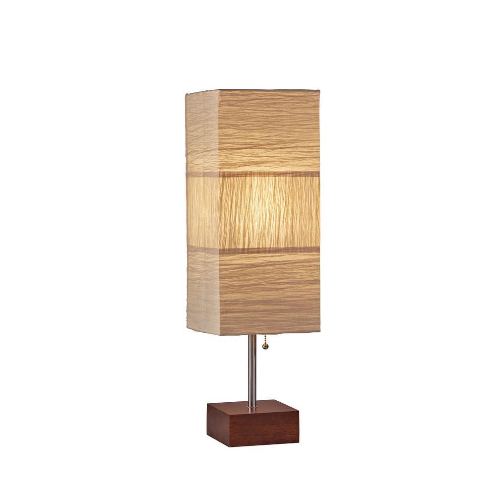 Sahara 26 in. Brown Table Lamp