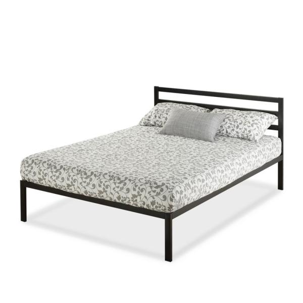 Zinus Mia Steel 1500h Platform Bed Frame Queen Hd Asmph
