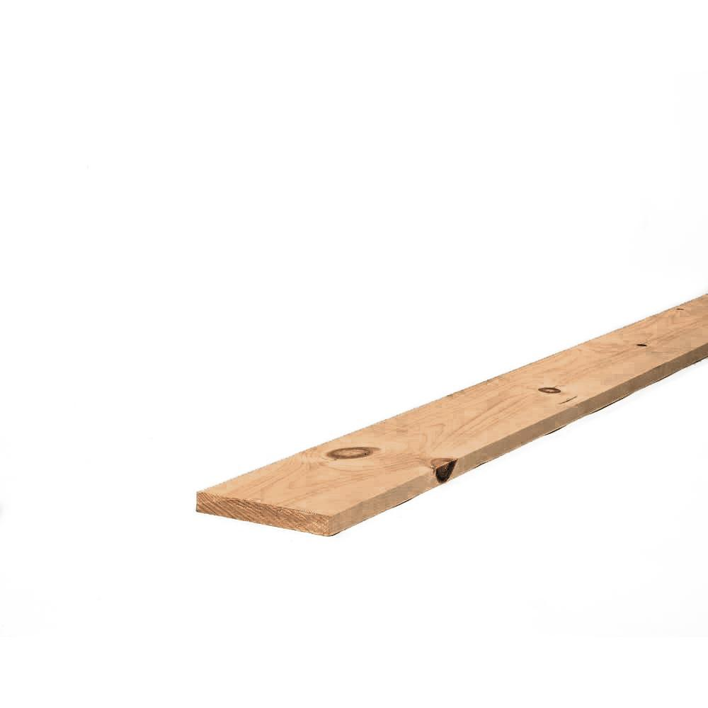 1 in. x 6 in. x 4 ft. Doug Fir Above Ground Pressure-Treated Lumber