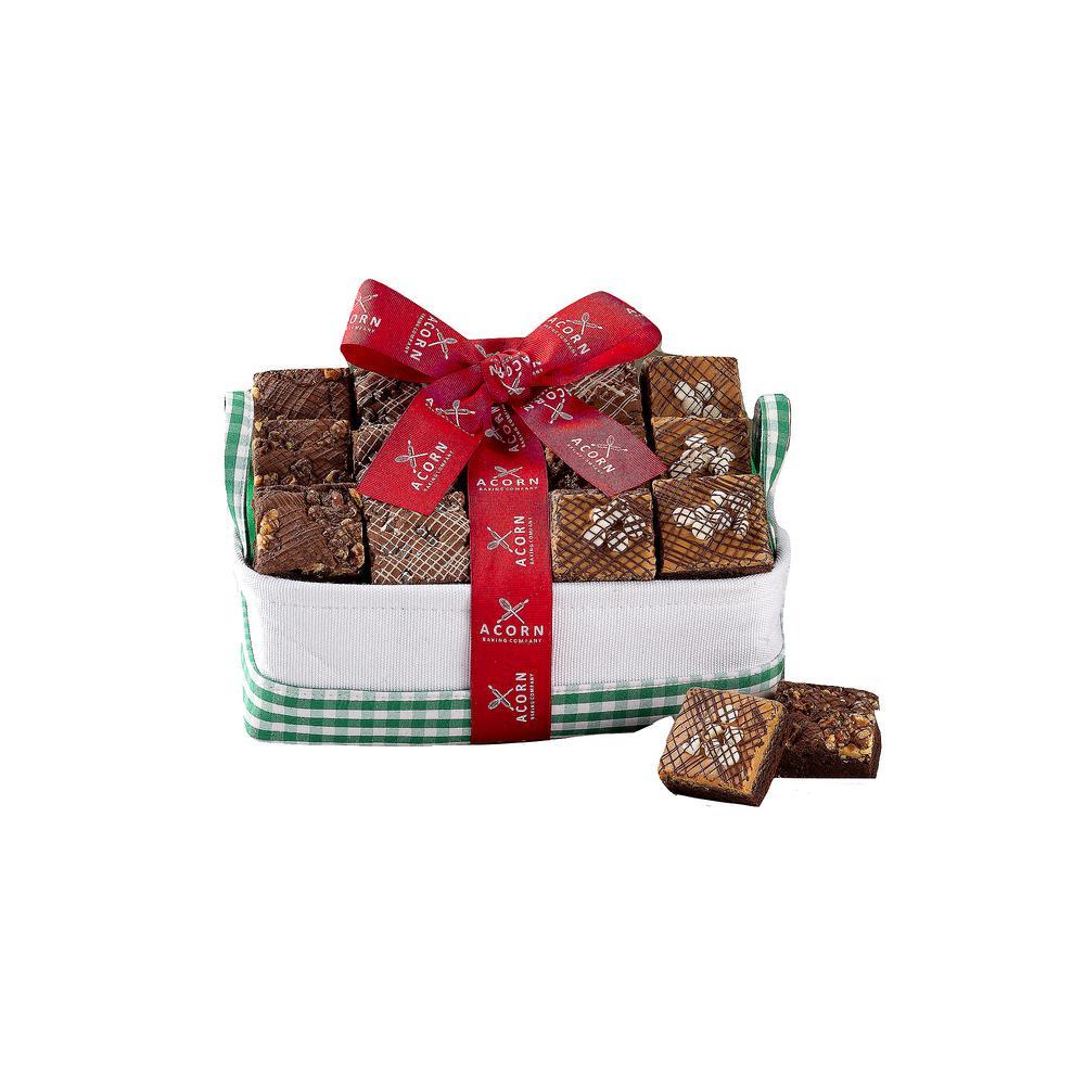 Chocolateand Fudge Brownies Gift Box