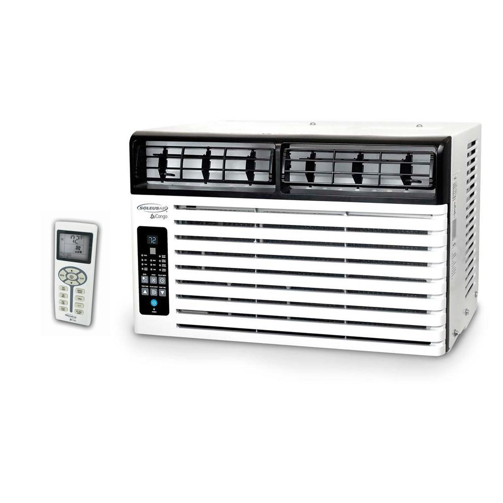 Soleus Air 6,400 BTU 115-Volt Window Air Conditioner with LCD Remote Control, ENERGY STAR