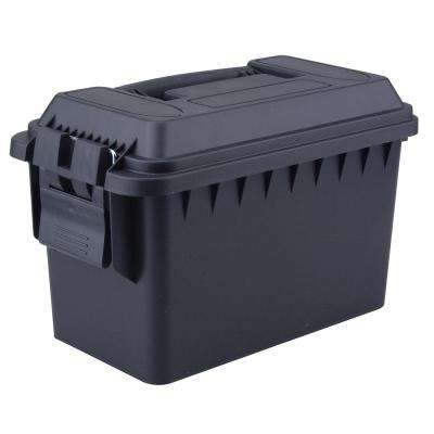 0.50 Cal. Tactical Ammo Storage Boxes in Black
