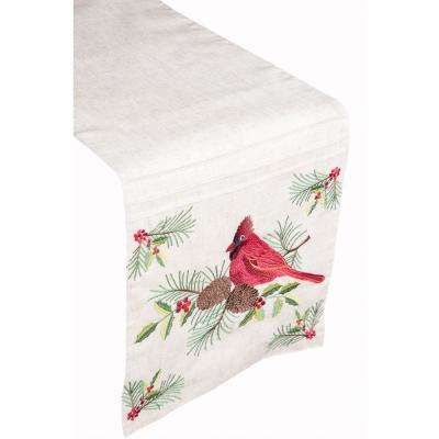 Cardinal Birch 100% Polyester Table Runner