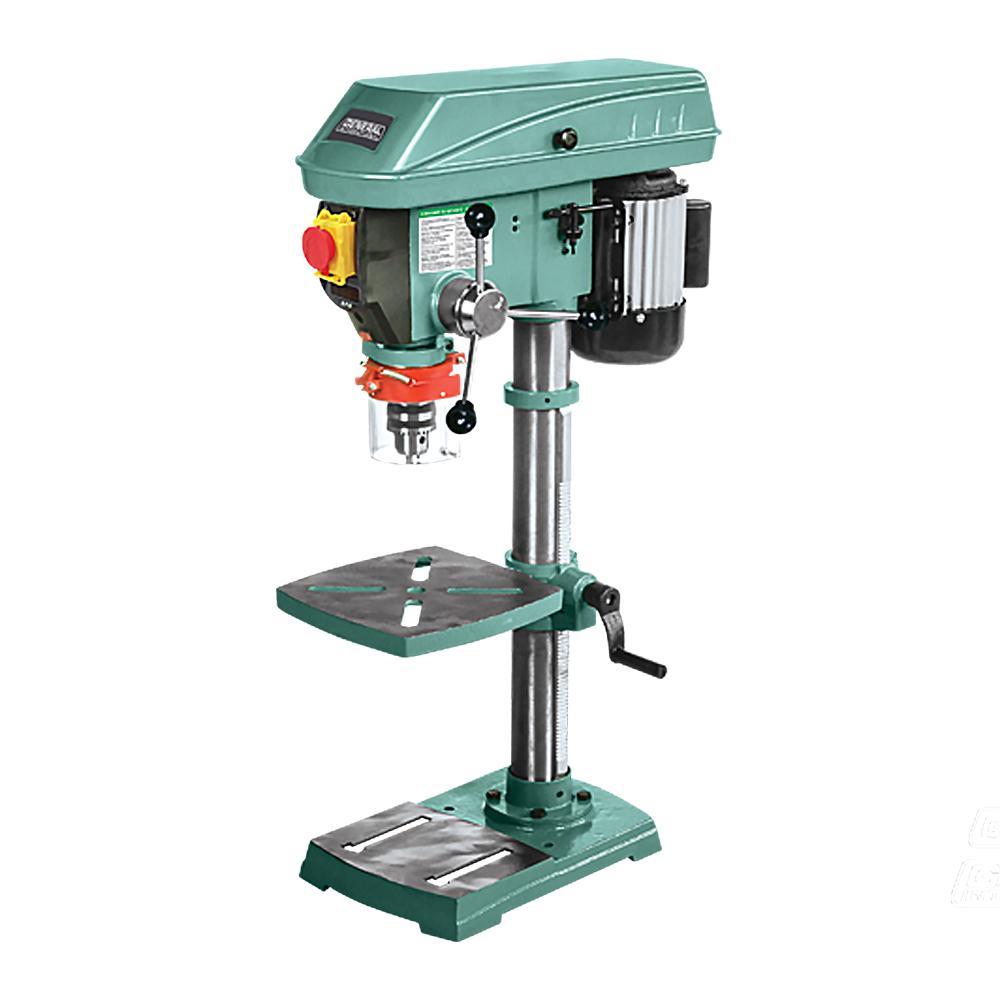 General International 12 inch Variable Speed Drill Press with Laser by General International