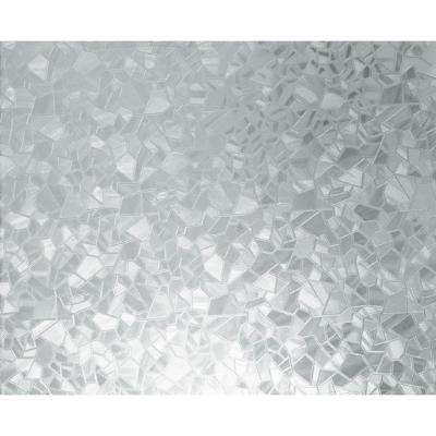 26 in. x 59 in. Splinter Static Cling Window Film