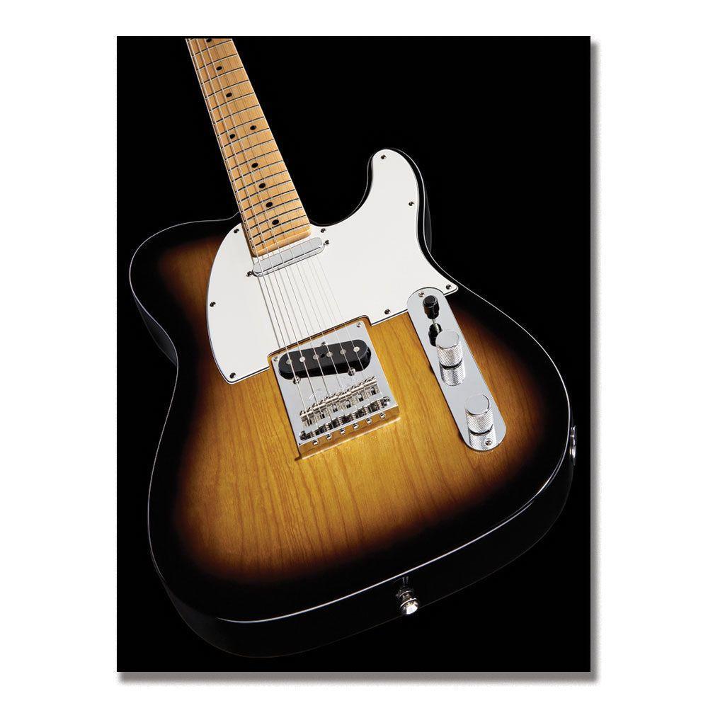 Trademark Fine Art 14 in. x 19 in. Fender Telecaster II Canvas Art