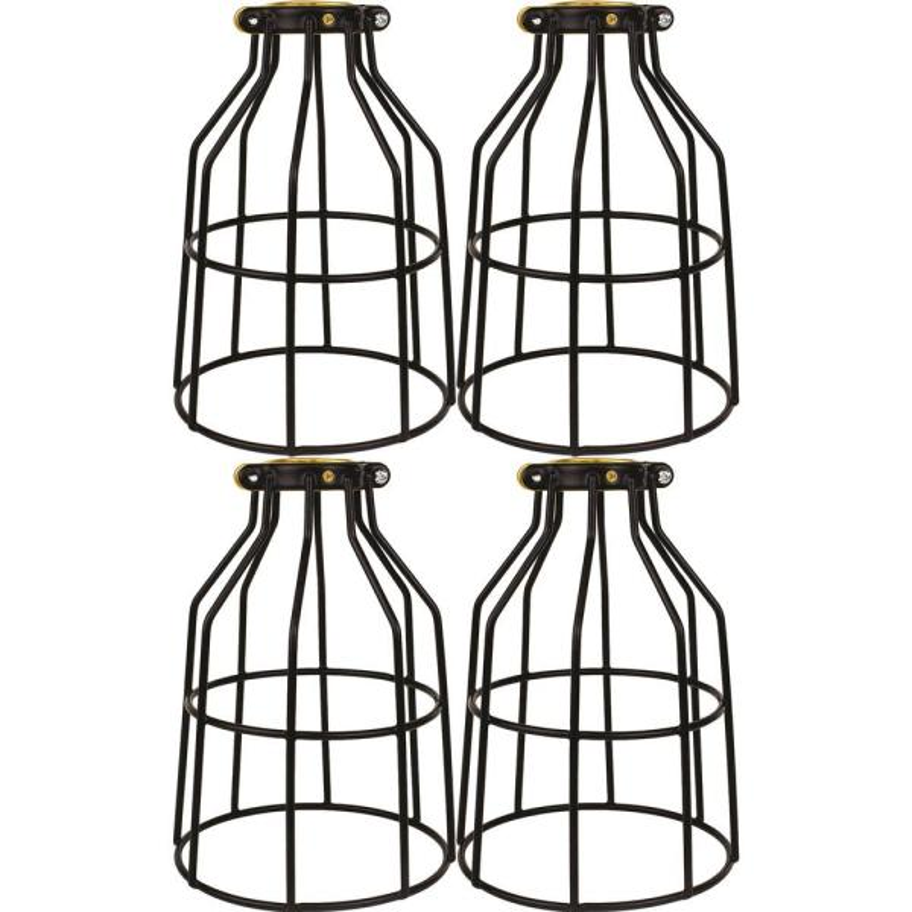 Lamp Guard for Light Bulbs, Vintage Bulbs, Edison Light Bulb Guard 4 Pack