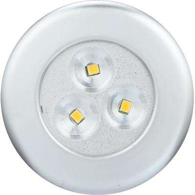 LED Lite N Up Silver Puck (2-Pack)