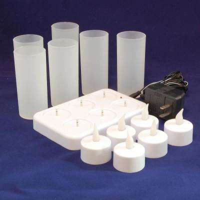 Rechargeable Flameless Candle (Set of 6)