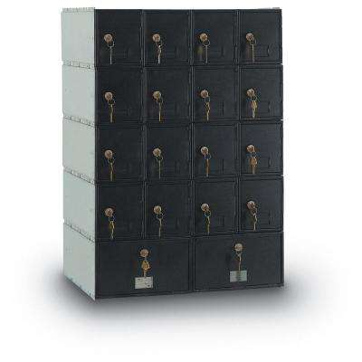 18-Compartment Standard Mailbox with Rear Loading Guardian System